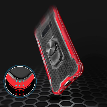 Avis Avizar Coque Rouge Contours Bumper pour Samsung Galaxy S10e