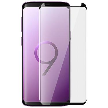 Avizar Film verre trempé Noir pour Samsung Galaxy S9 Film verre trempé Noir Samsung Galaxy S9