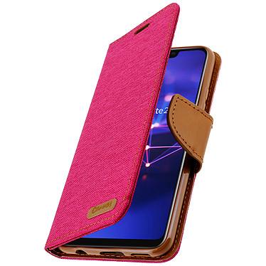 Avizar Etui folio Rose pour Huawei Mate 20 lite pas cher