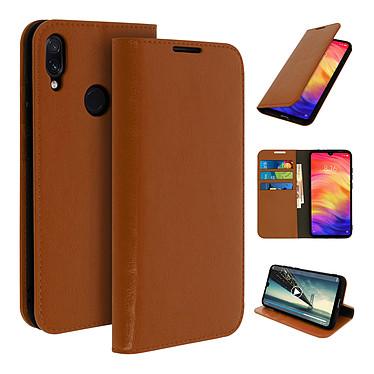 Avizar Etui folio Camel pour Xiaomi Redmi Note 7 pas cher