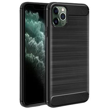 Avizar Coque Noir Finition Carbone pour Apple iPhone 11 Pro pas cher