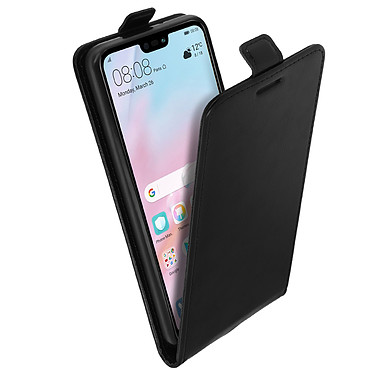 Avis Avizar Etui à clapet Noir pour Huawei P20 Lite