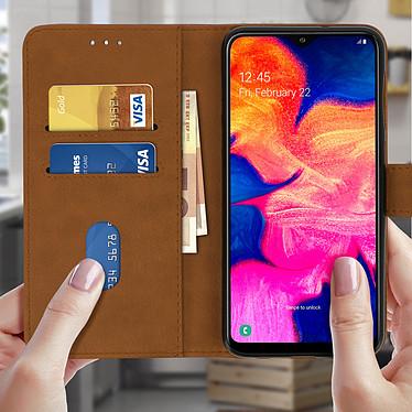 Acheter Avizar Etui folio Marron pour Samsung Galaxy A10