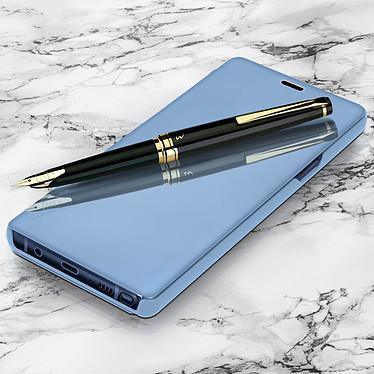 Avizar Etui folio Bleu pour Samsung Galaxy Note 9 pas cher