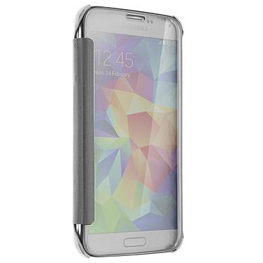Avis Avizar Etui folio Argent pour Samsung Galaxy S5 , Samsung Galaxy S5 New