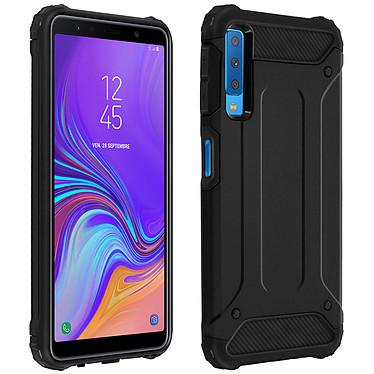 Avizar Coque Noir pour Samsung Galaxy A7 2018 Coque Noir Samsung Galaxy A7 2018
