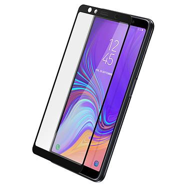 Avizar Film verre trempé Noir pour Samsung Galaxy A7 2018 Film verre trempé Noir Samsung Galaxy A7 2018