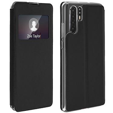 Avizar Etui folio Noir pour Huawei P30 Pro Etui folio Noir Huawei P30 Pro
