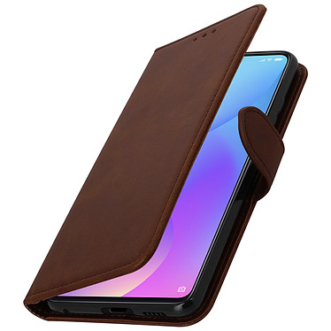 Avizar Etui folio Marron pour Xiaomi Mi 9T , Xiaomi Mi 9T Pro pas cher