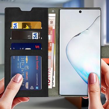 Acheter Avizar Etui folio Noir pour Samsung Galaxy Note 10 Plus