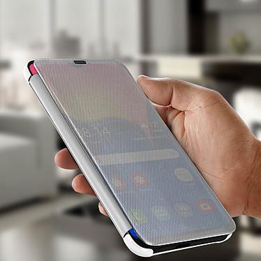 Avis Avizar Etui folio Argent pour Samsung Galaxy A10