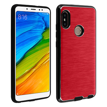 Avizar Coque Rouge pour Xiaomi Redmi Note 5 Coque Rouge Xiaomi Redmi Note 5