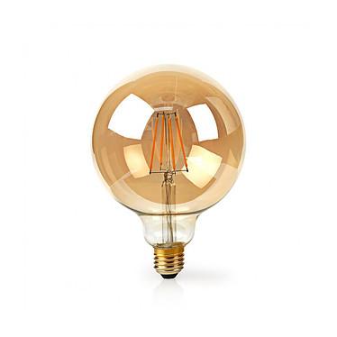 NEDIS Ampoule à Filament LED Intelligente Wi-Fi G125 pas cher