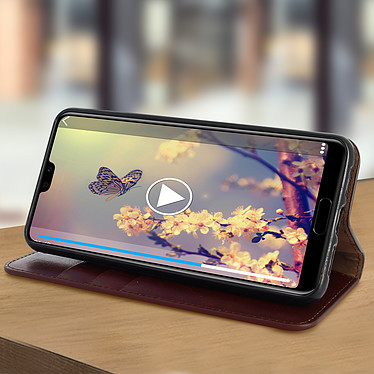 Avis Avizar Etui folio Marron pour Huawei P20 Pro