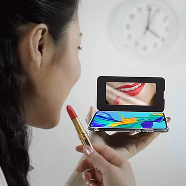 Acheter Avizar Etui folio Noir Miroir pour Huawei P30