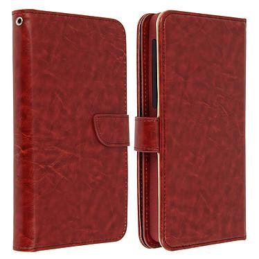 Acheter Avizar Etui folio Marron pour Smartphones de 5.5' à 6.0'