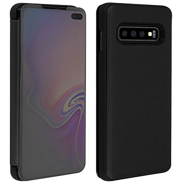 Avis Avizar Etui folio Noir pour Samsung Galaxy S10 Plus