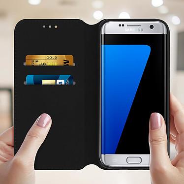 Acheter Avizar Etui folio Noir pour Samsung Galaxy S7 Edge