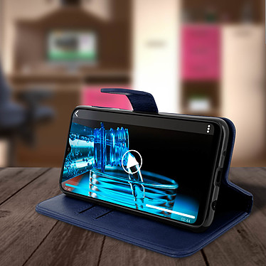Acheter Avizar Etui folio Bleu Nuit pour Samsung Galaxy A10