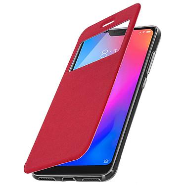 Avizar Etui folio Rouge pour Xiaomi Mi A2 pas cher