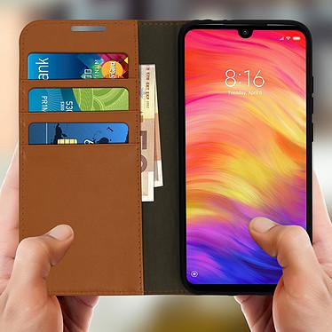 Acheter Avizar Etui folio Camel pour Xiaomi Redmi Note 7
