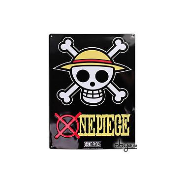 ONE PIECE - Plaque métal Skull - Luffy (28x38) ONE PIECE - Plaque métal Skull - Luffy (28x38)