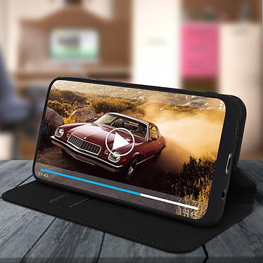 Avis Avizar Etui folio Noir pour Samsung Galaxy A50 , Samsung Galaxy A30s