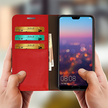 Acheter Avizar Etui folio Rouge pour Huawei P20 Pro