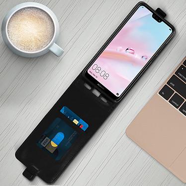 Acheter Avizar Etui à clapet Noir pour Huawei P20 Lite