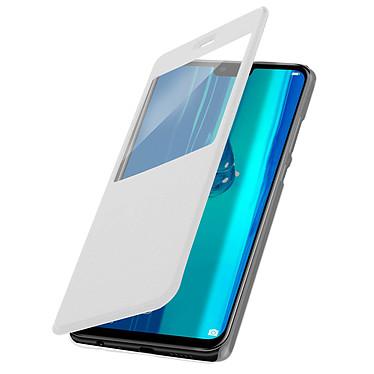 Avizar Etui folio Blanc pour Huawei Y9 2019 pas cher