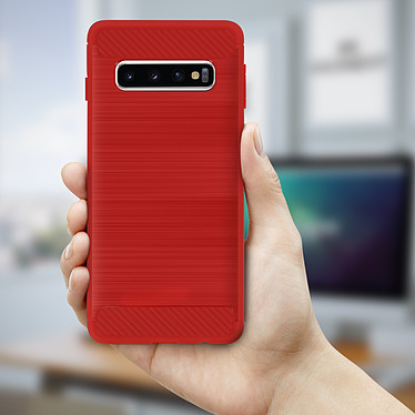 Acheter Avizar Coque Rouge pour Samsung Galaxy S10