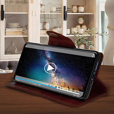 Acheter Avizar Etui folio Marron Éco-cuir pour Huawei Mate 20