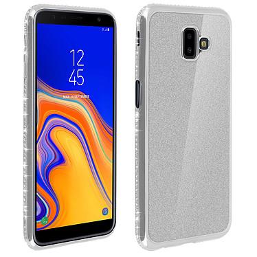 Avizar Coque Argent pour Samsung Galaxy J6 Plus Coque Argent Samsung Galaxy J6 Plus