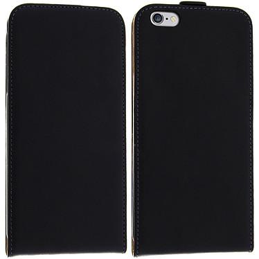 Avizar Etui à clapet Noir pour Apple iPhone 6 Plus , Apple iPhone 6S Plus pas cher
