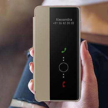 Acheter Avizar Etui folio Dorée pour Huawei P40