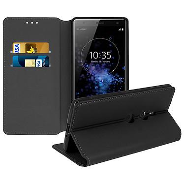 Avizar Etui folio Noir pour Sony Xperia XZ2 Etui folio Noir Sony Xperia XZ2