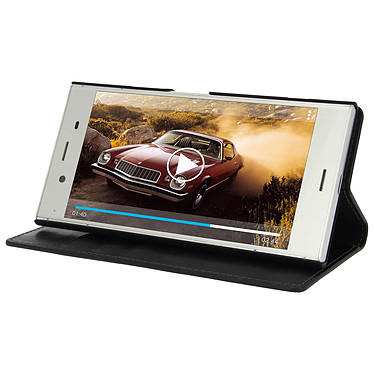 Avis Avizar Etui folio Noir pour Sony Xperia XZ1