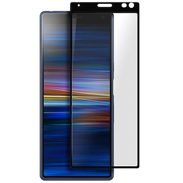 Avizar Film verre trempé Noir pour Sony Xperia 10 Plus pas cher