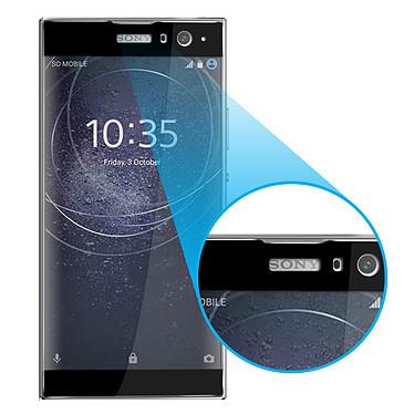 Acheter Avizar Film verre trempé Noir pour Sony Xperia XA2