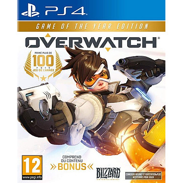 Overwatch Edition Game Of The Year (PS4) Jeu PS4 Action-Aventure 12 ans et plus
