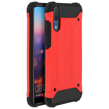 Avizar Coque Rouge pour Huawei P20 Coque Rouge Huawei P20