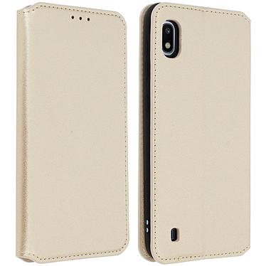 Avizar Etui folio Dorée pour Samsung Galaxy A10 Etui folio Dorée Samsung Galaxy A10