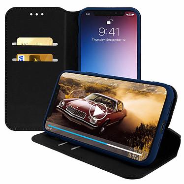 Avizar Etui folio Bleu Nuit pour Apple iPhone 11 Pro Max pas cher