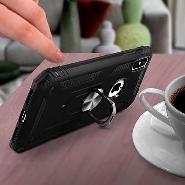 Avis Avizar Coque Noir Bague de maintien pour Apple iPhone XS Max