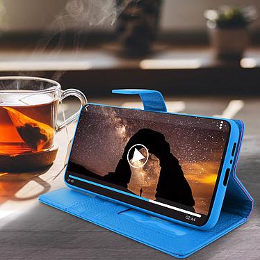 Avis Avizar Etui folio Bleu pour Samsung Galaxy A80