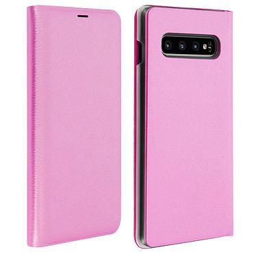 Avizar Etui folio Rose Portefeuille pour Samsung Galaxy S10 Plus Etui folio Rose portefeuille Samsung Galaxy S10 Plus