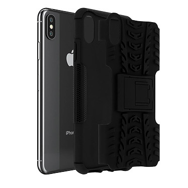 Avizar Coque Noir Antichoc pour Apple iPhone XS Max Coque Noir antichoc Apple iPhone XS Max