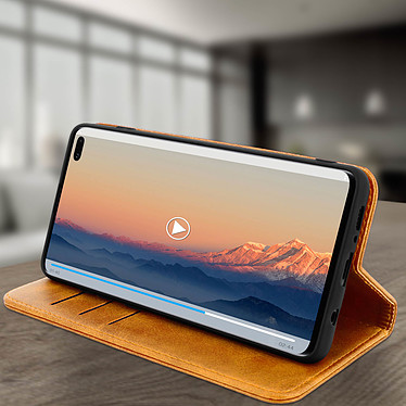 Avis Avizar Etui folio Camel Vieilli pour Samsung Galaxy S10 Plus