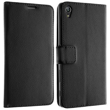 Avizar Etui folio Noir pour Sony Xperia Z5 pas cher