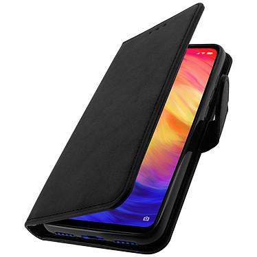 Avizar Etui folio Noir Portefeuille pour Xiaomi Redmi 7 pas cher